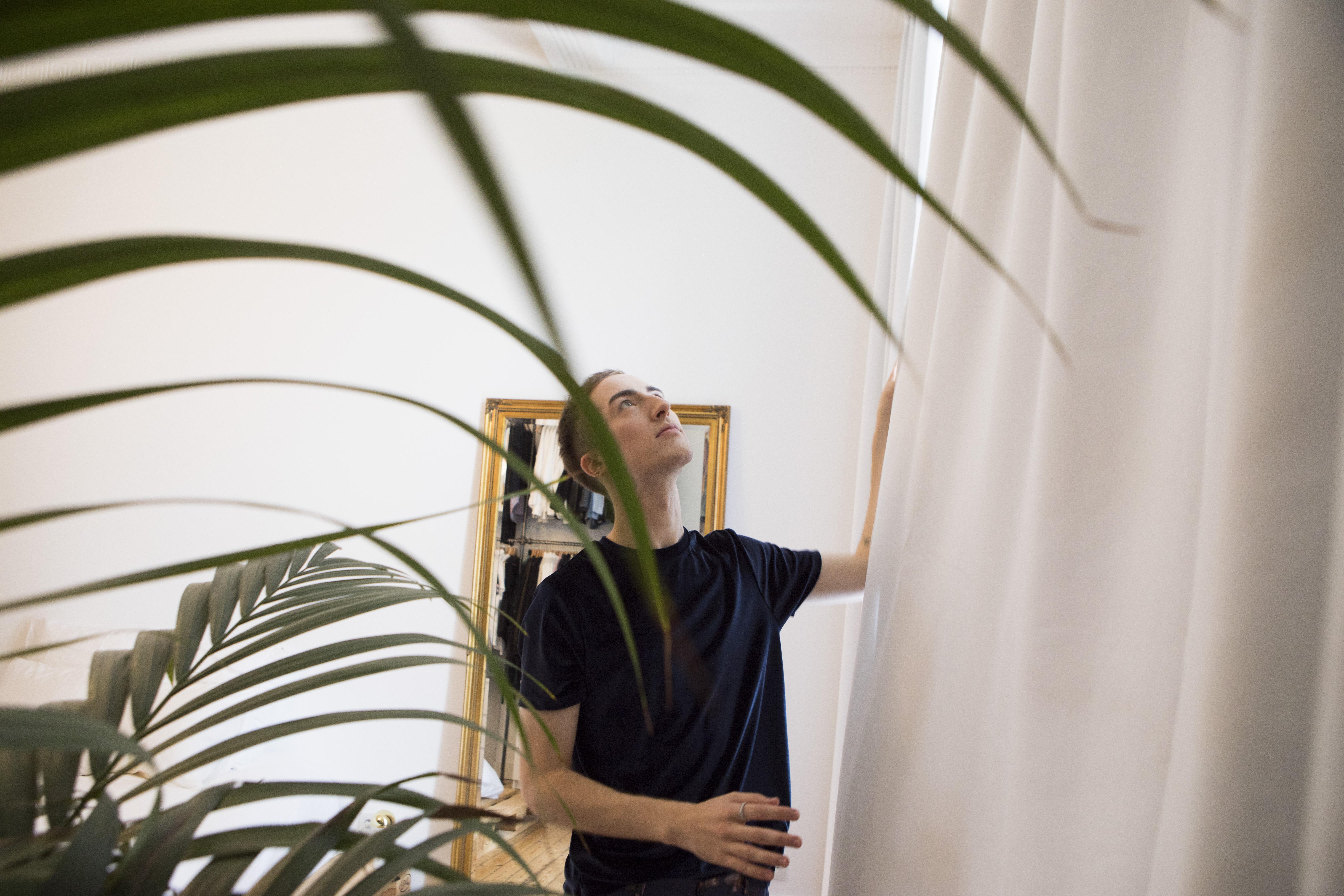 Behangpapier Slaapkamer Heytens : Ontmoeting gerrit and the city onthult zijn nieuw heytens decor