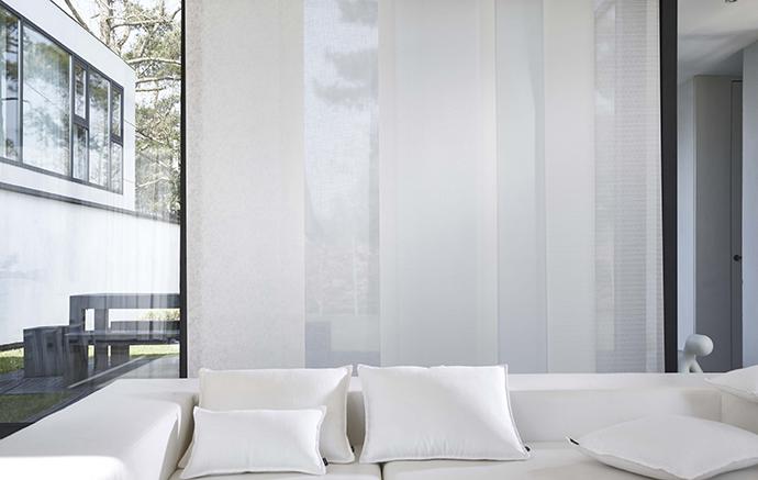 Japanse panelen paneelgordijnen op maat